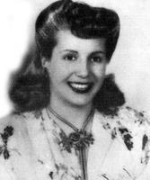 Evita Perons Hochzeitsbild