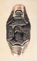 Antonia-Visconti- Kostbare Schmuckstücke, darunter zahlreiche Ringe, Edelsteine, Perlen, Gold- und Silbersachen, Leuchter, Kelche,