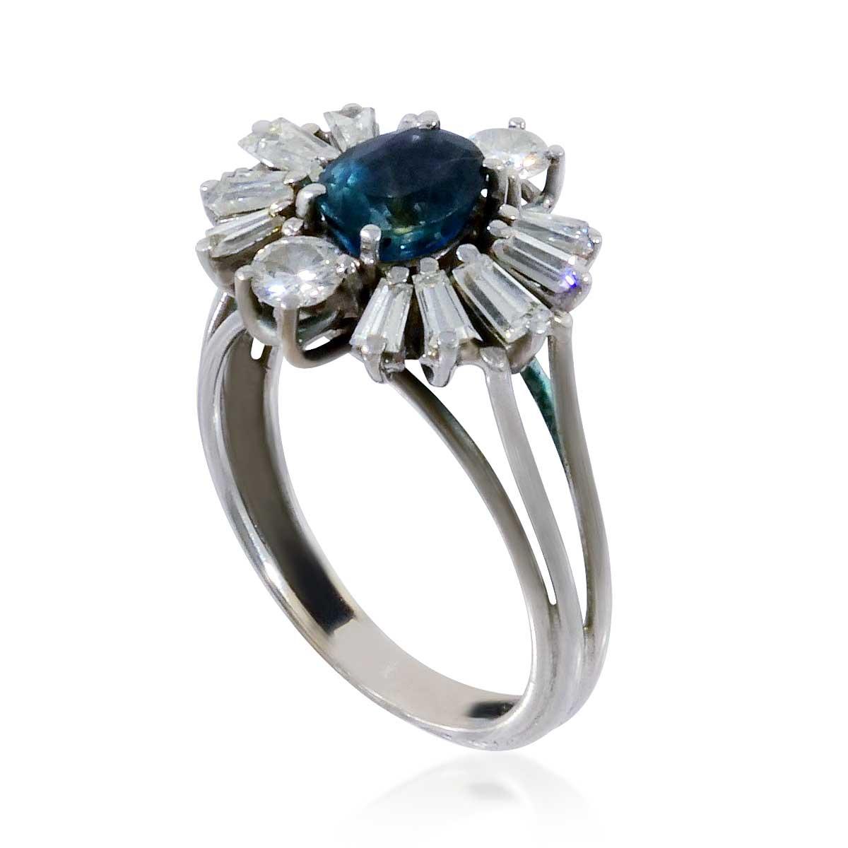 brillant ring mit 1 03 ct brillant wei und rein in. Black Bedroom Furniture Sets. Home Design Ideas