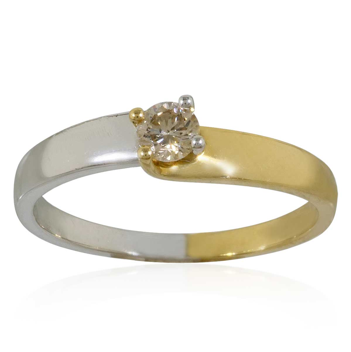 eternity ring halbmemory mit 0 63ct diamanten in gelbgold. Black Bedroom Furniture Sets. Home Design Ideas
